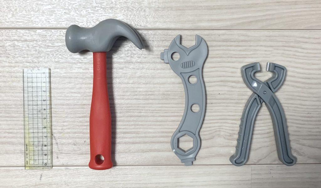 ブリオビルダーの遊び方(道具について)(BRIO)